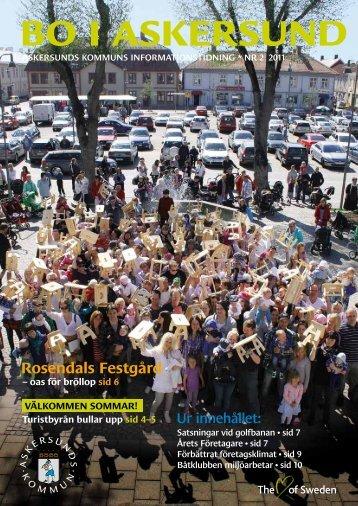 Bo i Askersund nr 2 2011.pdf - Bild & Kultur