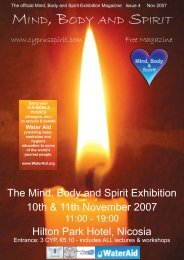 The Official Mind, Body And Spirit Exhibition ... - Anette Martinsen