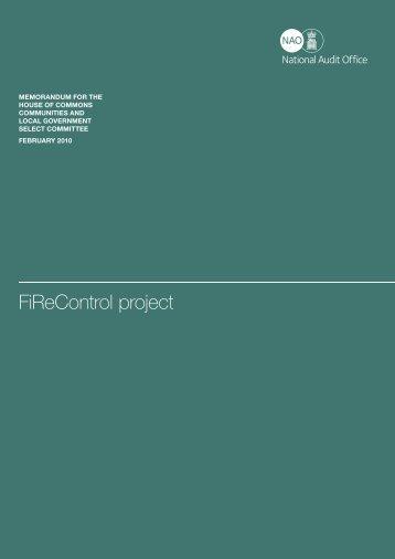 Full report (pdf - 139KB) - National Audit Office