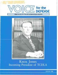 Knox Jones - Voice For The Defense Online