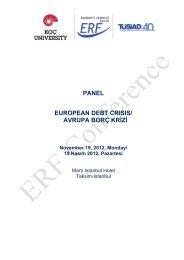 European Debt Crisis - EAF - Koç Üniversitesi