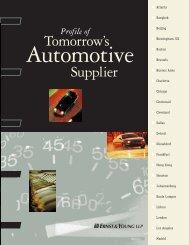 Profile of Tomorrow's Automotive Supplier - Autoindustria.com