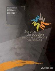 Guide - Ministère de la Culture et des Communications