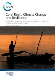 Coral reefs, climate change and resilience: an agenda for ... - IUCN