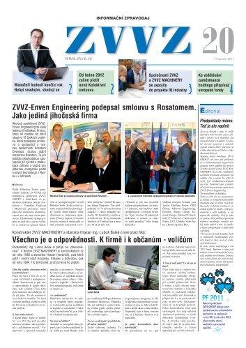 Zpravodaj ZVVZ č.20 - ZVVZ a.s.