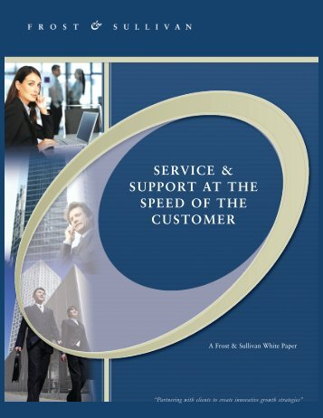 Service & Support At The Speed of The Customer - CallNorthWest