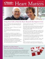 December 2010 - Minneapolis Heart Institute Foundation