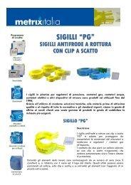 Sigilli Plastica Antifrode - Watergas