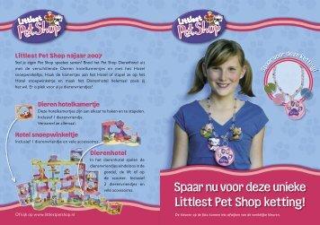 Spaar nu voor deze unieke Littlest Pet Shop ketting! - Hasbro