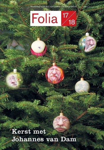 Kerst met Johannes van Dam - Folia Web