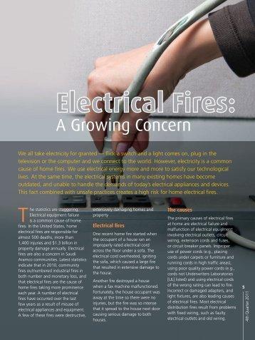Electrical Fires - Saudi Aramco