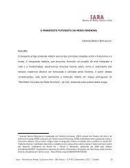 O MANIFESTO FUTURISTA DA MODA FEMININA Vanessa Beatriz ...