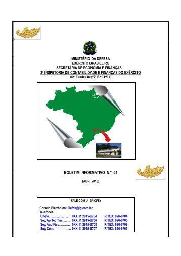 30 Abr 10 - 2ª ICFEx - Exército Brasileiro