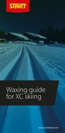 Waxing guide for XC skiing (PDF - 3.6Mb) - Start