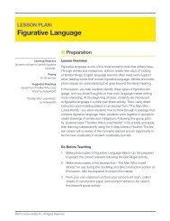 Figurative Language - Achieve3000