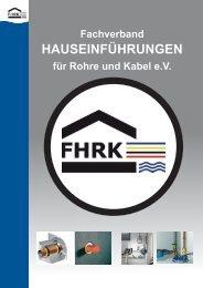 Plattform für Hauseinführungssysteme Neuer ... - Hauff-Technik