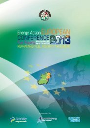Conference Programme - Energy Action