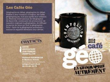 Les Cafés Géo - Lisst