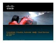 Cisco Presentation - State Senate