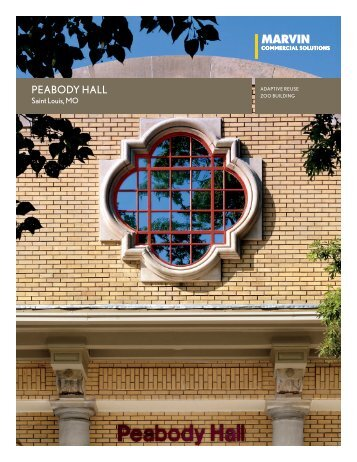 Peabody Hall - Marvin Windows and Doors
