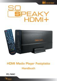 HDMI Media Player Festplatte - DaneDigital
