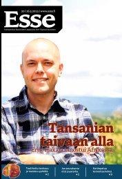 Esse 20/2013 (pdf) - Espoon seurakuntasanomat