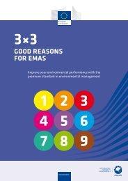 GOOD REASONS FOR EMAS - European Commission - Europa