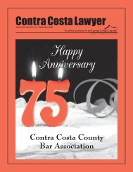CC Lawyer - Contra Costa County Bar Association