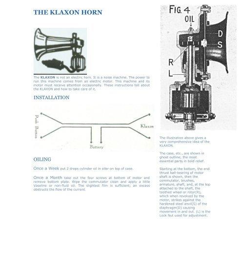 THE KLAXON HORN - rrec-surrey org uk
