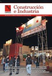 Revista Construción & Industria - Consejo Departamental de Lima