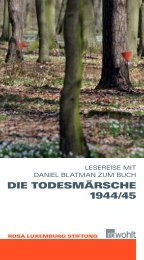 Die ToDes märsche 1944/45 - DIE LINKE. Dr. Gerd-Rüdiger Hoffmann