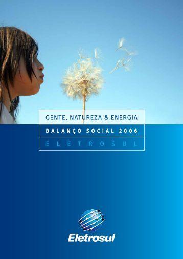 Balanço Social - Eletrosul