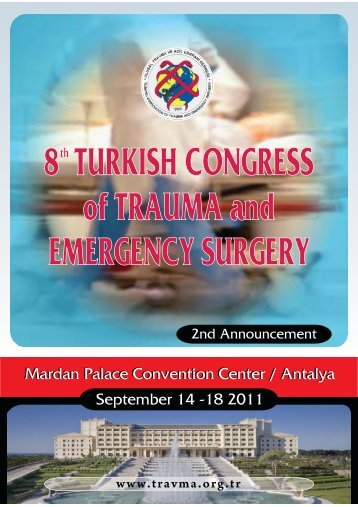 8th TURKISH CONGRESS of TRAUMA and EMERGENCY SURGERY