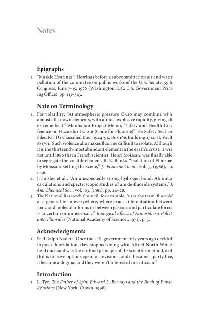 Epigraphs Note on Terminology Acknowledgments Introduction
