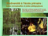 Animation pédagogique 2010 - Rectorat de l'académie de Besançon