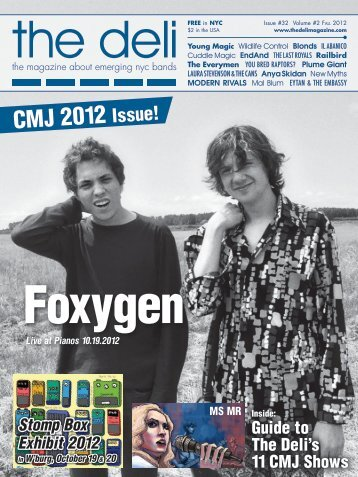 CMJ 2012 Issue! - The Deli