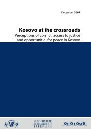 Kosovo at the crossroads - Eulex