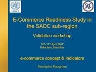 E-commerce Concept and Indicators - ICTA