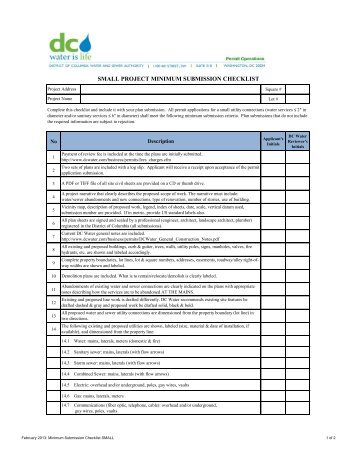 Checklist For Commercial And Industrial Project  FplCom