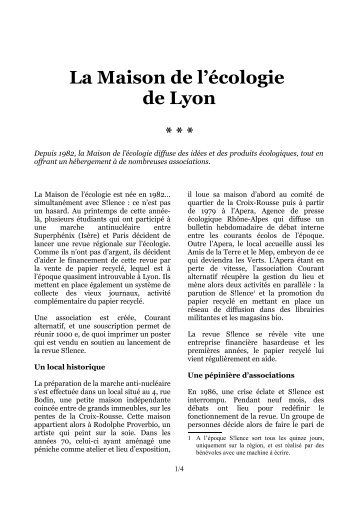 Silence_Alternative_Maisonecologie.pdf PDF a4
