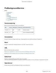 FtuBackgroundService - Optagelse.dk