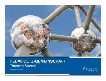 HELMHOLTZ-GEMEINSCHAFT - GAIN