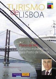 Plano da APL Turismo estratégico para Porto de Lisboa