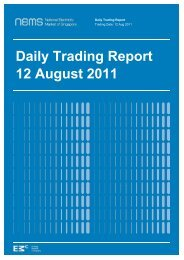Daily Trading Report 12 August 2011 - EMC