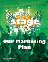 Our Marketing Plan - Walsworth Yearbooks