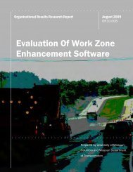 Evaluation Of Work Zone Enhancement Software - FTP Directory ...