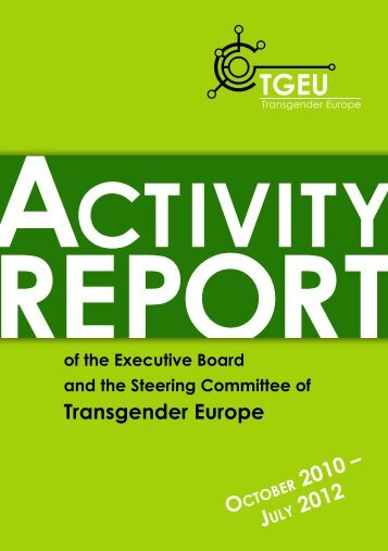 Transgender Europe - Transgender Network Switzerland