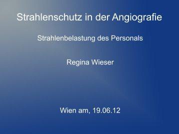 Strahlenschutz in der Angiografie - Österreichischer Verband für ...
