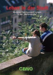 Leben in der Stadt - GEWO Teningen