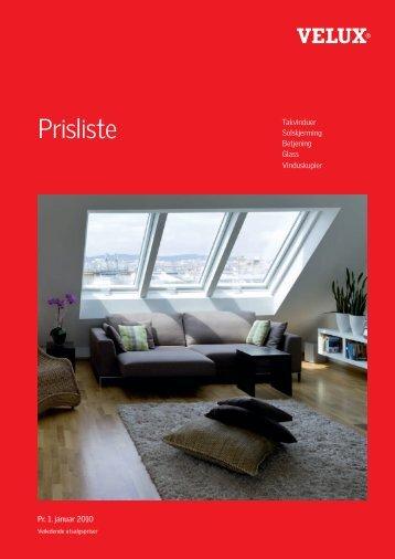 Prisliste - Velux AS